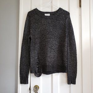 Feel The Piece Terre Jacobs Distressed Sweater